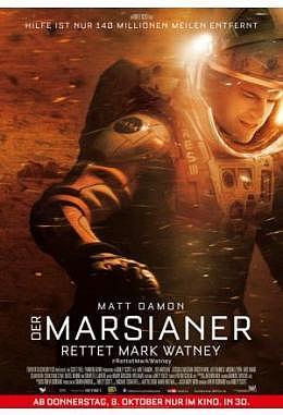 Marsianer, Der - Rettet Mark Watney - Motiv B