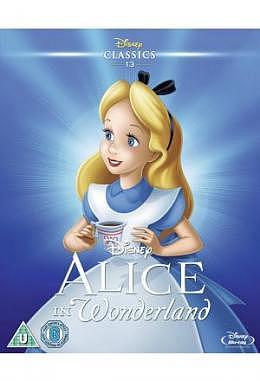 Alice in Wonderland - Blu Ray