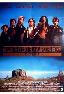 Blaze of Glory - Flammender Ruhm - A3