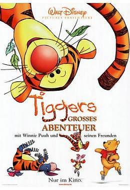 Tiggers grosses Abenteuer - A1 gefaltet