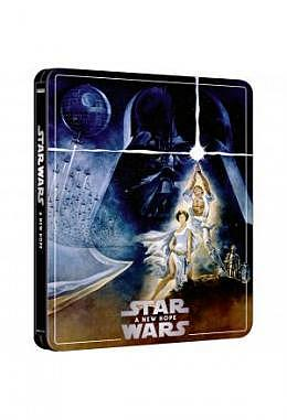 Star Wars: Episode IV – A New Hope – 4K Ultra HD Steelbook 3 Disc Edition