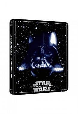 Star Wars Episode V: The Empire Strikes Back - 4K Ultra HD Steelbook (3 Disc Edition includes Blu-ray)