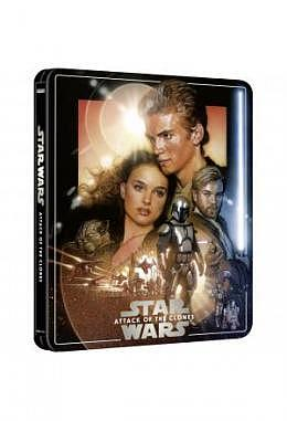 "Star Wars Episode 2 ""Attac of the Clones"" 4K Ultra HD Steelbook 3 Disc Edition"