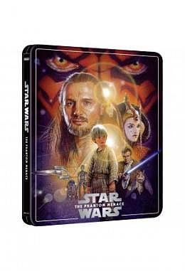Star Wars Episode I: Die Dunkle Bedrohung -  4K Ultra HD Steelbook (3 Disc Edition inkl. Blu-ray)